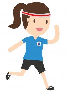 little running lady